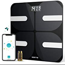 Vinselected Smart Body Fat Scale with phone App 396lbs 180kg