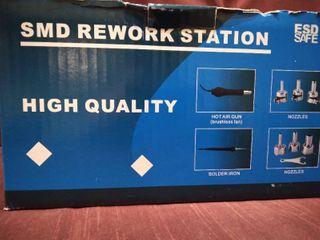 SMD REWORK STATION HIGH QUAlITY HOT AIR GUN  SOlDER IRON