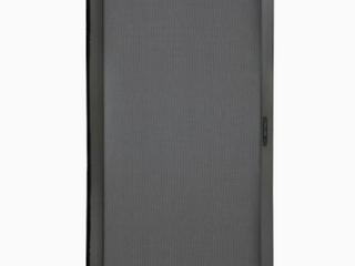 Grisham Heavy Duty Universal Patio Screen Door   Black