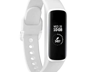 Samsung   Galaxy Fit Activity Tracker   Heart Rate   White