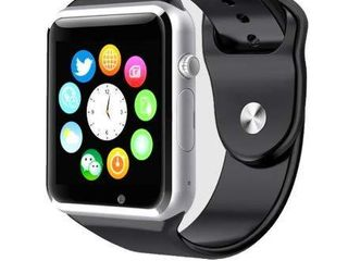 Style Asia Touch Screen Bluetooth Enabled Smart Watch  Camera  Music  Fitness Tracker and Pedometer  Black Matte Finish  Compatible to All Android and iOS Mobile Phones