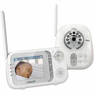 VTech Communications Safe   Sounds Full Color Video and Audio Monitor