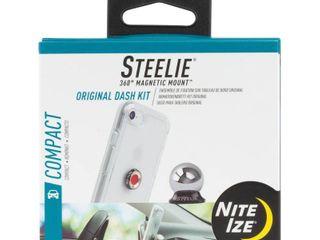 Steelie Car Mount Kit   Silver Black  STCK 11 R8