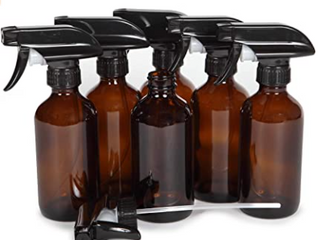 Vivaplez  6 large 8oz Bottles With Black Trigger Sprayers