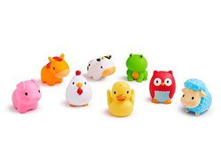 Munchkin Squirtin Bath Toy  Barnyard Friends