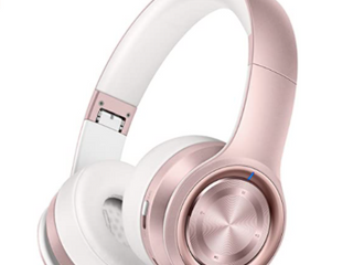 Picun P26 Wireless Stereo Headphones Extra Bass Rose Gold