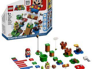 lEGO Super Mario Adventures with Mario Starter Course Building Kit Collectible 71360