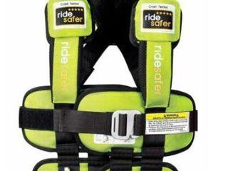 Safe Traffic System Ride Safer Travel Vest Gen 5  Small  Black  car Seat