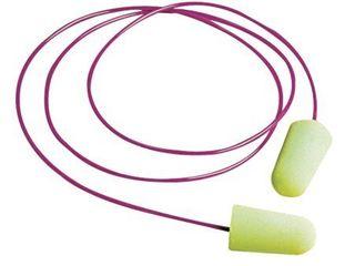 Moldex Pura Fit Foam Earplugs Corded  NRR 33