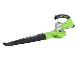 leaf Blower  Greenworks G Max 40 Volt Blower  Exotic Green