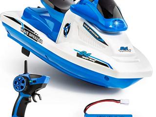 FORCE1 Wave Speeder Radio Controlled Motor Boat Blue
