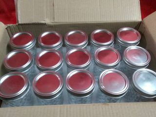 Verones  15 Pack 12Oz Mason Jars