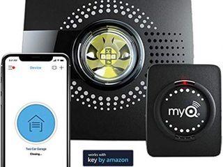 myq smart garage door opener chamberlain myq g0301   wireless   wi fi enabled garage hub with smartphone control