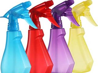 Pack of 4 8oz Spray Bottles