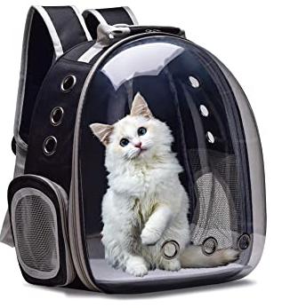 Pet Backpack  Black