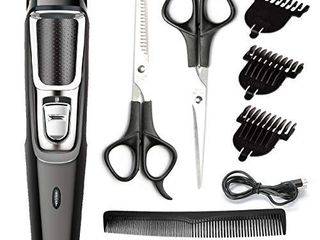 Hair Clippers for Men Professional Cordless Clippers Haircut Hair Trimmer Kit Rechargeable Head Shaver for Kids and Adult Beard Trimmer Men Rechargeable