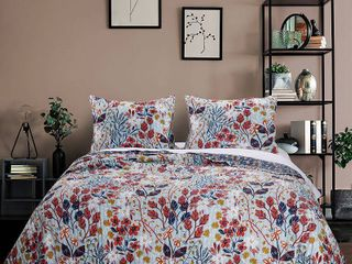 Greenland Home Fashions Perry Quilt Set  2 Piece Twin