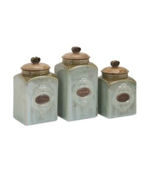 IMAX Addison Ceramic Canisters
