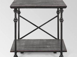Gray Pewter  Morell Modern Industrial End Table by Christopher Knight Home  Retail 119 49