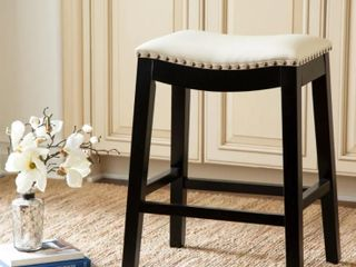 Copper Grove Divjake 26 in  Bonded leather Saddle Counter Stool  Retail 131 57