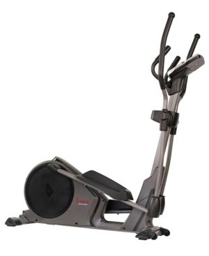 Sunny Health  amp  Fitness Pre Programmed Elliptical Trainer