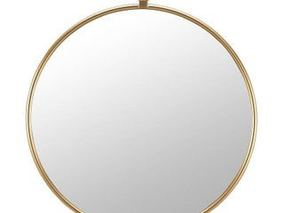 Marshall Round Wall Mirror Gold   FirsTime