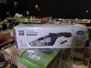 TWC02 Corded Car Vacuum Cleaner with Accessory Set  Unopened