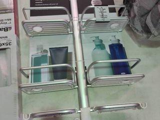 Good Grips Aluminum Hose Keeper Shower Caddy