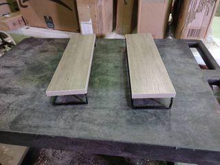 Pair of Floating Shelves
