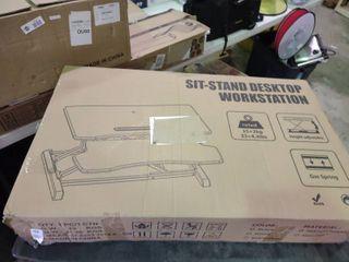 Sit Stand Desktop Work Station