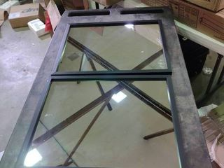 Pair of Mirrors with Black Frames