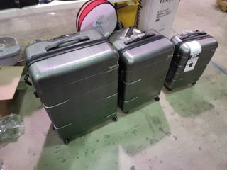 Set of 3 Cool life Hard Shell luggage Cases