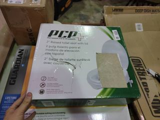 PCP 2  Raised Toilet Seat with lid