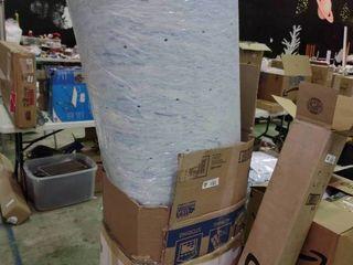 3  Gel Swirl Memory Foam Mattress Topper  King