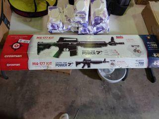 Crosman M4 177 Tactical Style Bolt Action Variable Pump BB Air Rifle