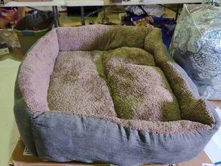 large Plush Dog Bed