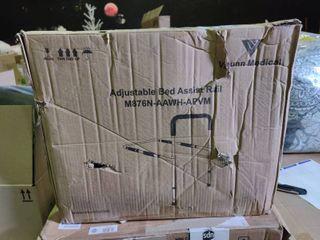 Vaunn Medical Adjustable Bed Assist Rail