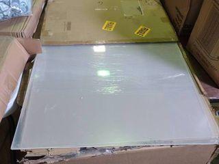 3 Sheets of Clear Acrylic Plexiglass
