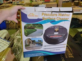 Twinkle Star Pressure Washer Surface Cleaner