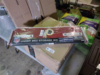 NFl Redskins Under Bed Storage Bin