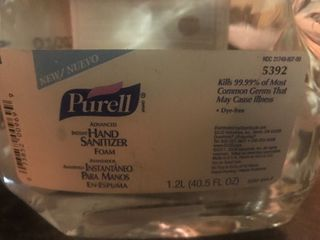Case of two containers of Parell hand sanitizer refills