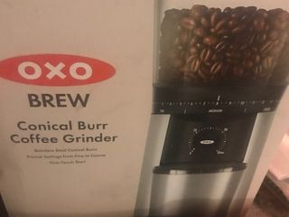 Inbox commercial style coffee bean grinder