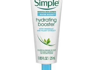 Unscented Simple Water Hydrating Booster   0 85oz