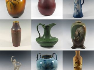 New Year's Pottery Auction