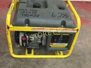 Wacker 2500watt Gas Generator