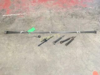 45  x 1 4  Sewer Rods w  3 Cutters   2 Wrenches