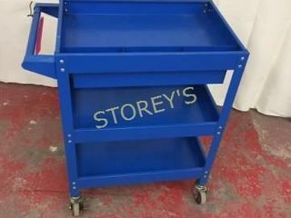 AS New Metal Shop Cart   24 x 16 x 32