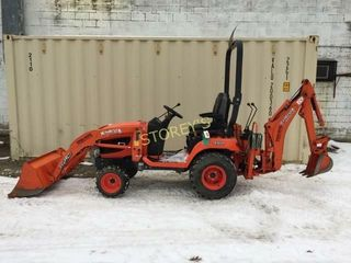 Kubota BX25D loader Backhoe w