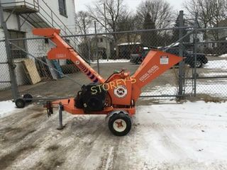 Morbark As Is 5  Gravity Fed Branch Chipper