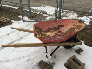 6cu ft  Wheel Barrel